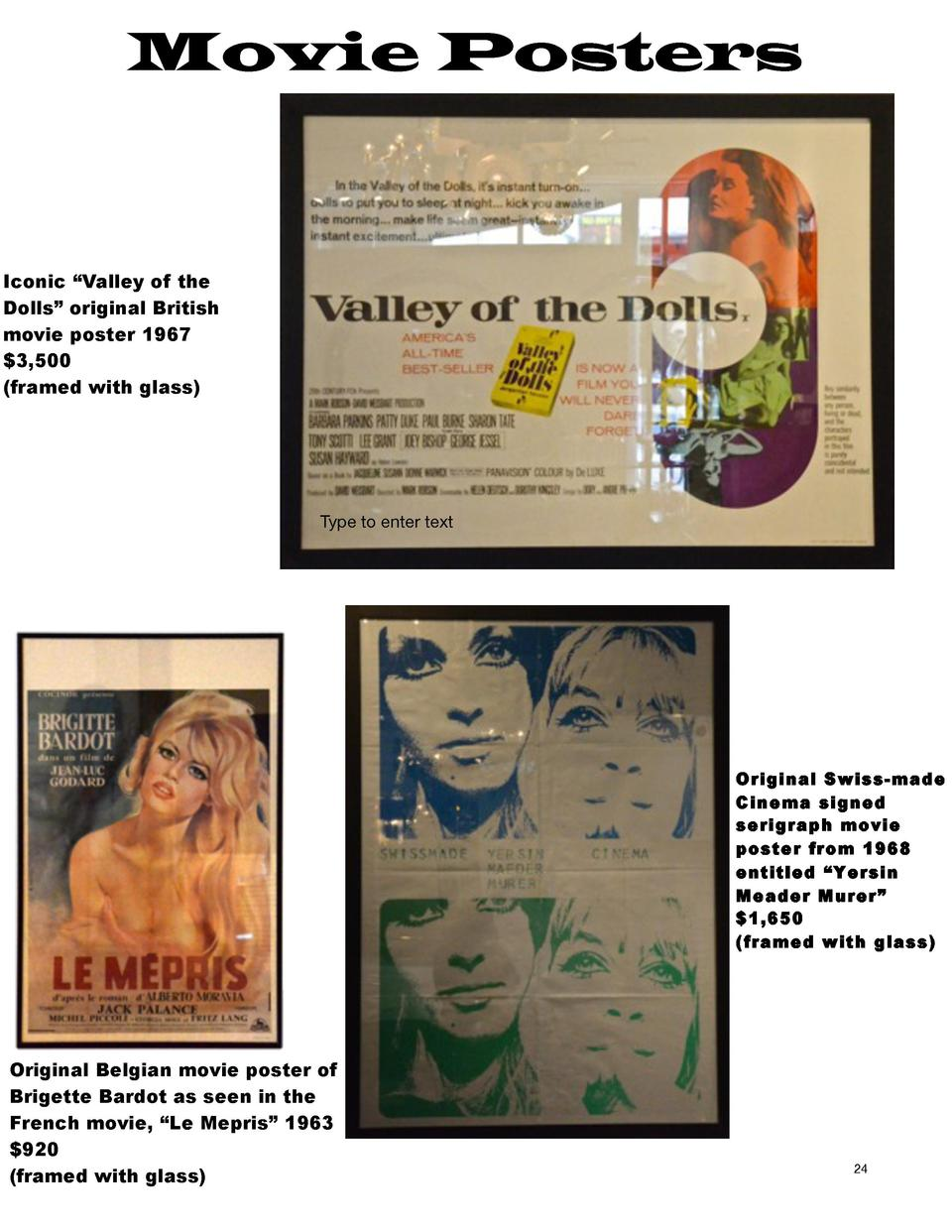 Movie Posters  Iconic    Valley of the Dolls    original British movie poster 1967  3,500  framed with glass   Type to ent...