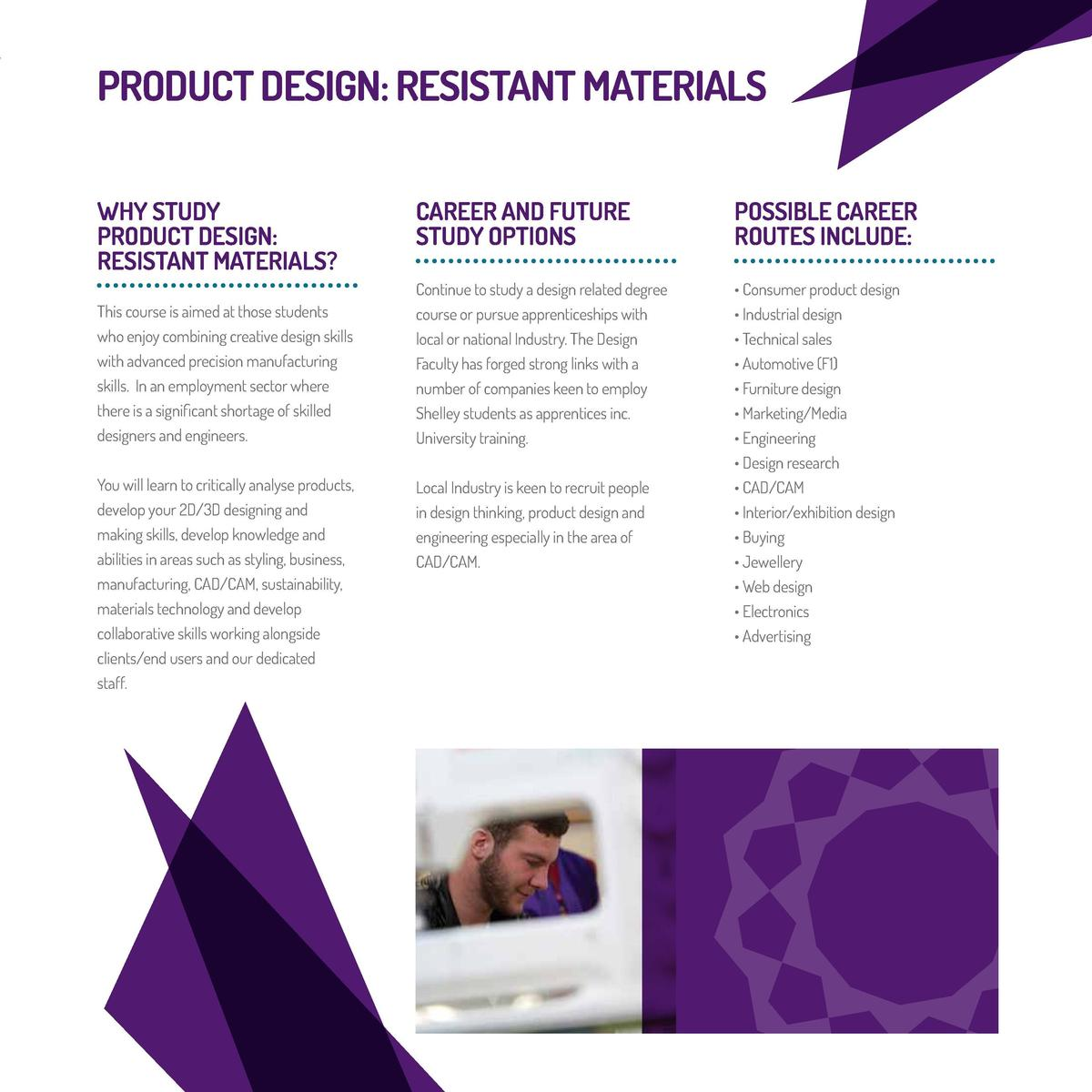 design and technology coursework resistant materials Graphic products (aqa) the graphic products course follows a similar style to the resistant materials course with 60% based on a coursework project and a 40%, design-based exam.