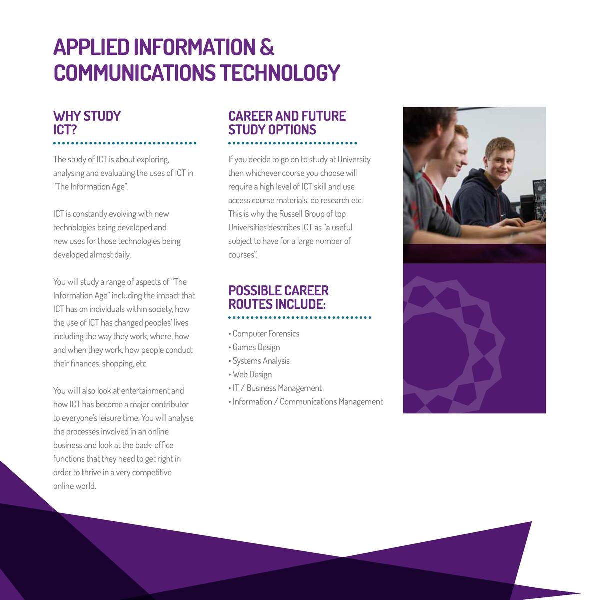 applied ict coursework Course: postgraduate certificate in applied ict & leadership program postgraduate certificate in applied ict & leadership program ict.