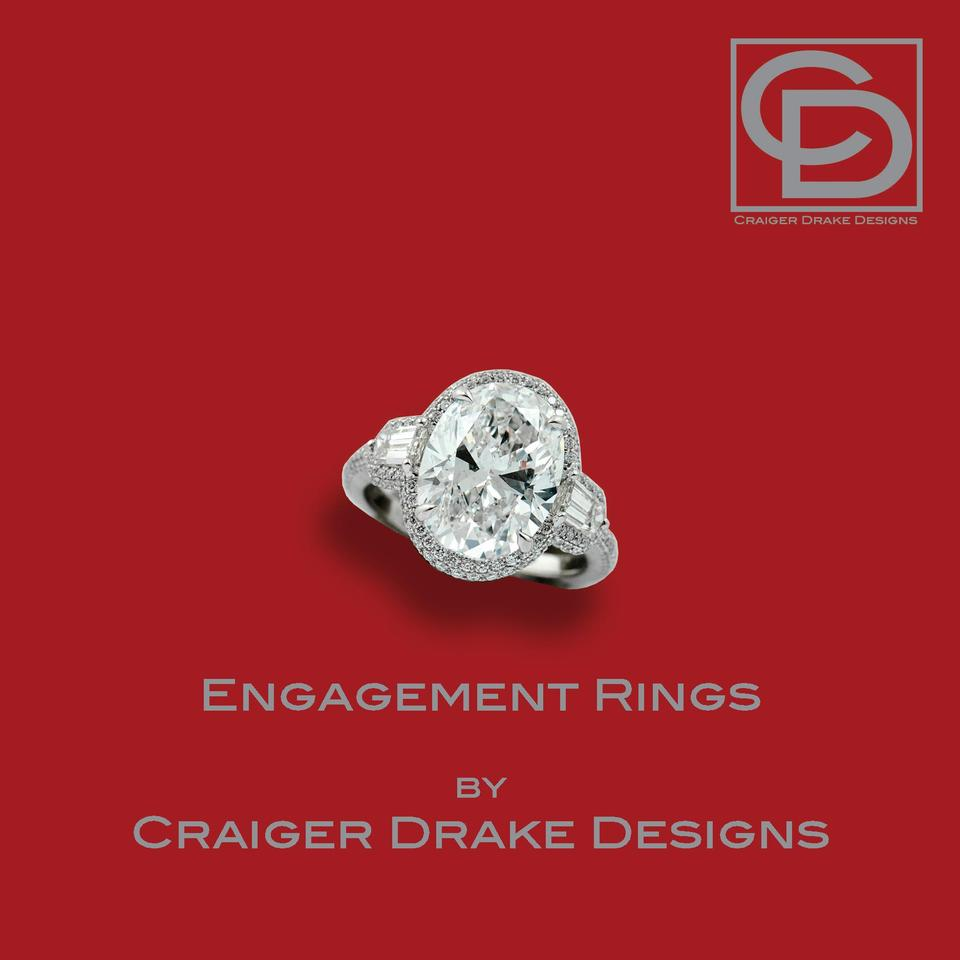Engagement Ri ngs by  Crai ger Drake Desi gns