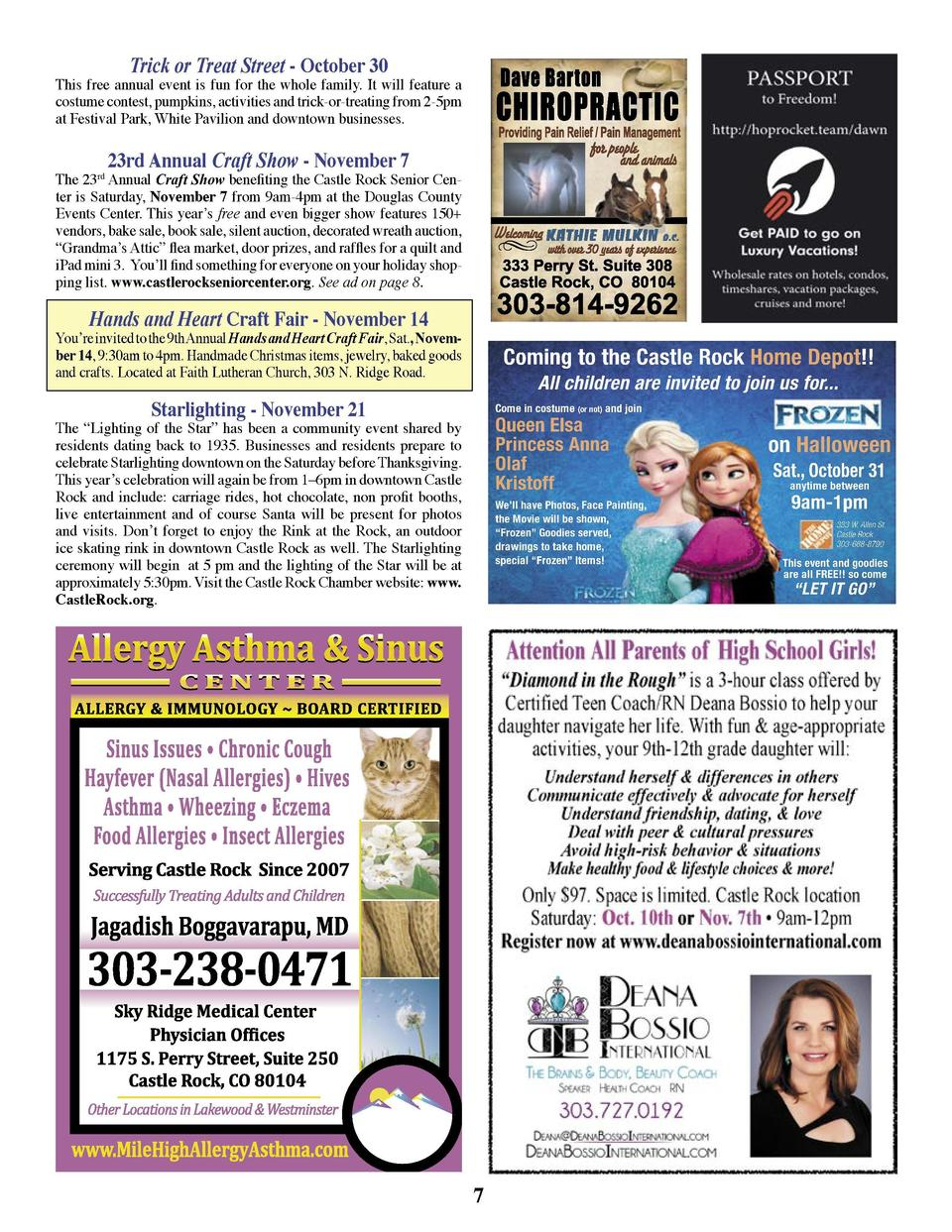 Events  Castle Rock Salon By Bre  If your business or organization is holding an event, please e-mail a brief write-up to ...