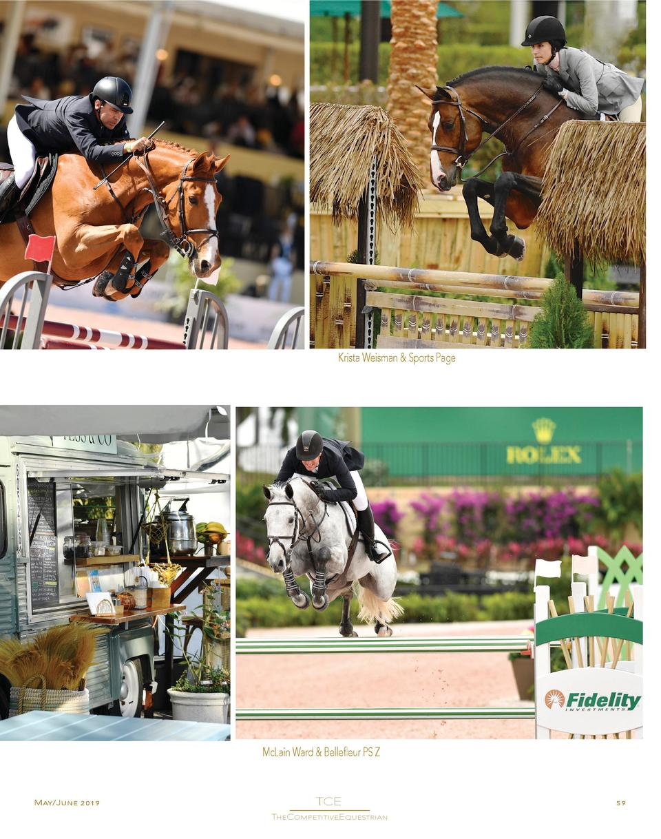 Krista Weisman   Sports Page  McLain Ward   Bellefleur PS Z  May June 2019  TCE  ________________ TheCompetitiveEquestrian...