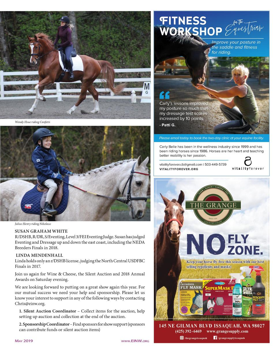 Fitness for the workshop Equestrian Improve your posture in the saddle and fitness for riding.  Carly   s lessons improved...