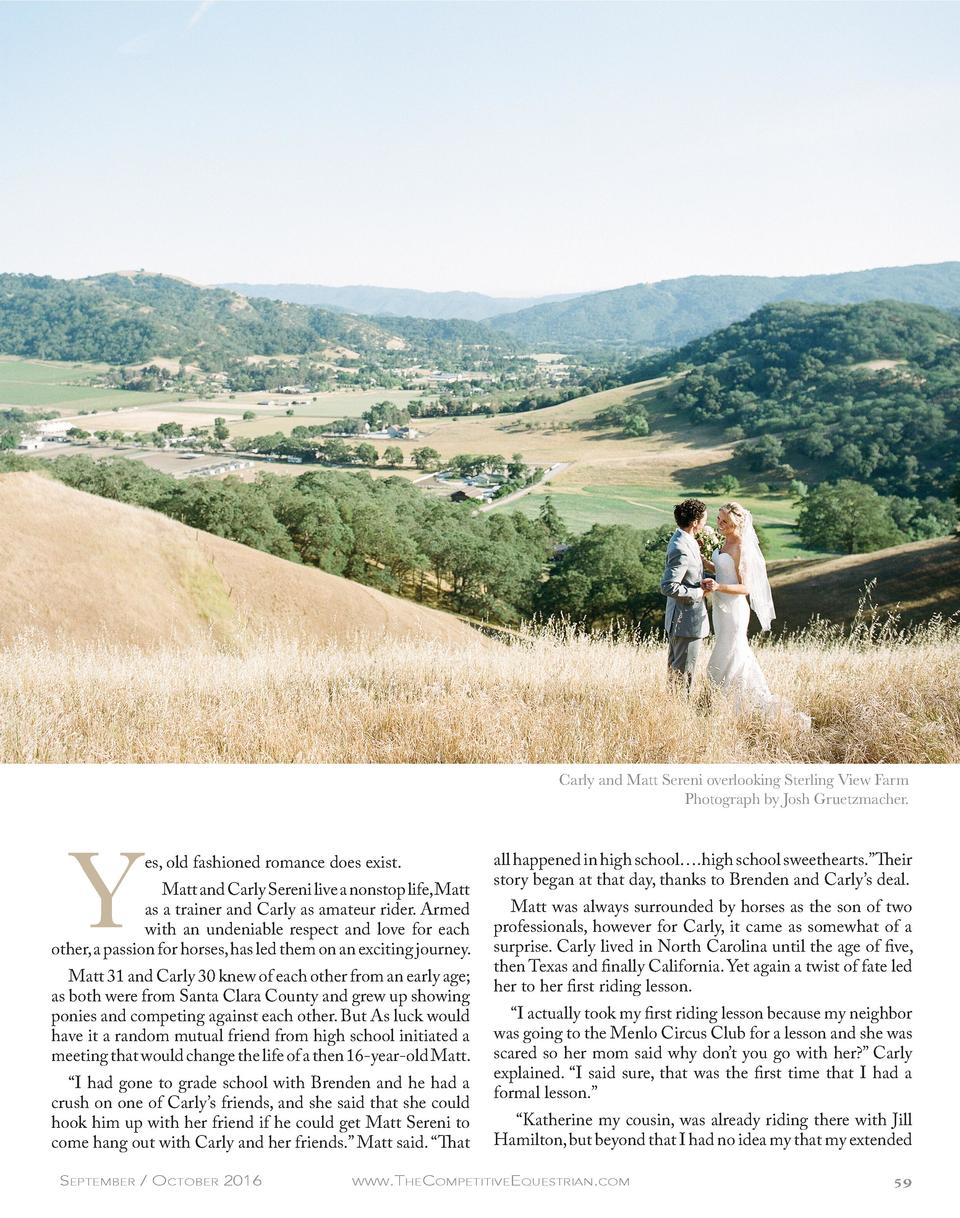 Carly and Matt Sereni overlooking Sterling View Farm Photograph by Josh Gruetzmacher.  Y  es, old fashioned romance does e...
