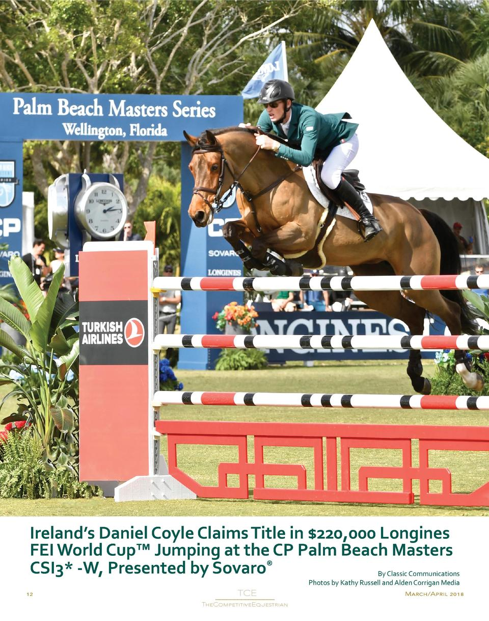 Ireland   s Daniel Coyle Claims Title in  220,000 Longines FEI World Cup    Jumping at the CP Palm Beach Masters CSI3  -W,...
