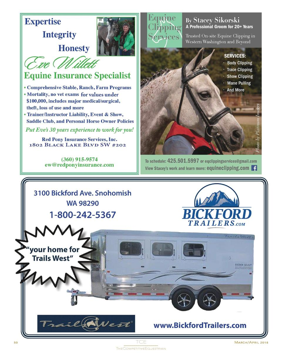By Stacey  Sikorski  A Professional Groom for 20  Years  Trusted On-site Equine Clipping in Western Washington and Beyond ...
