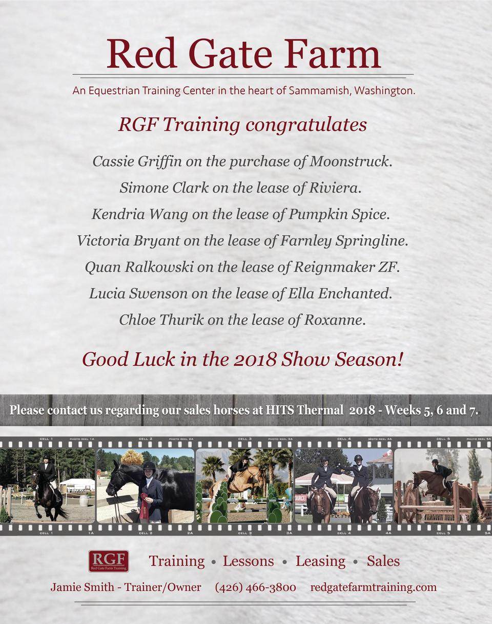 24  TCE  ________________ TheCompetitiveEquestrian  January February 2018