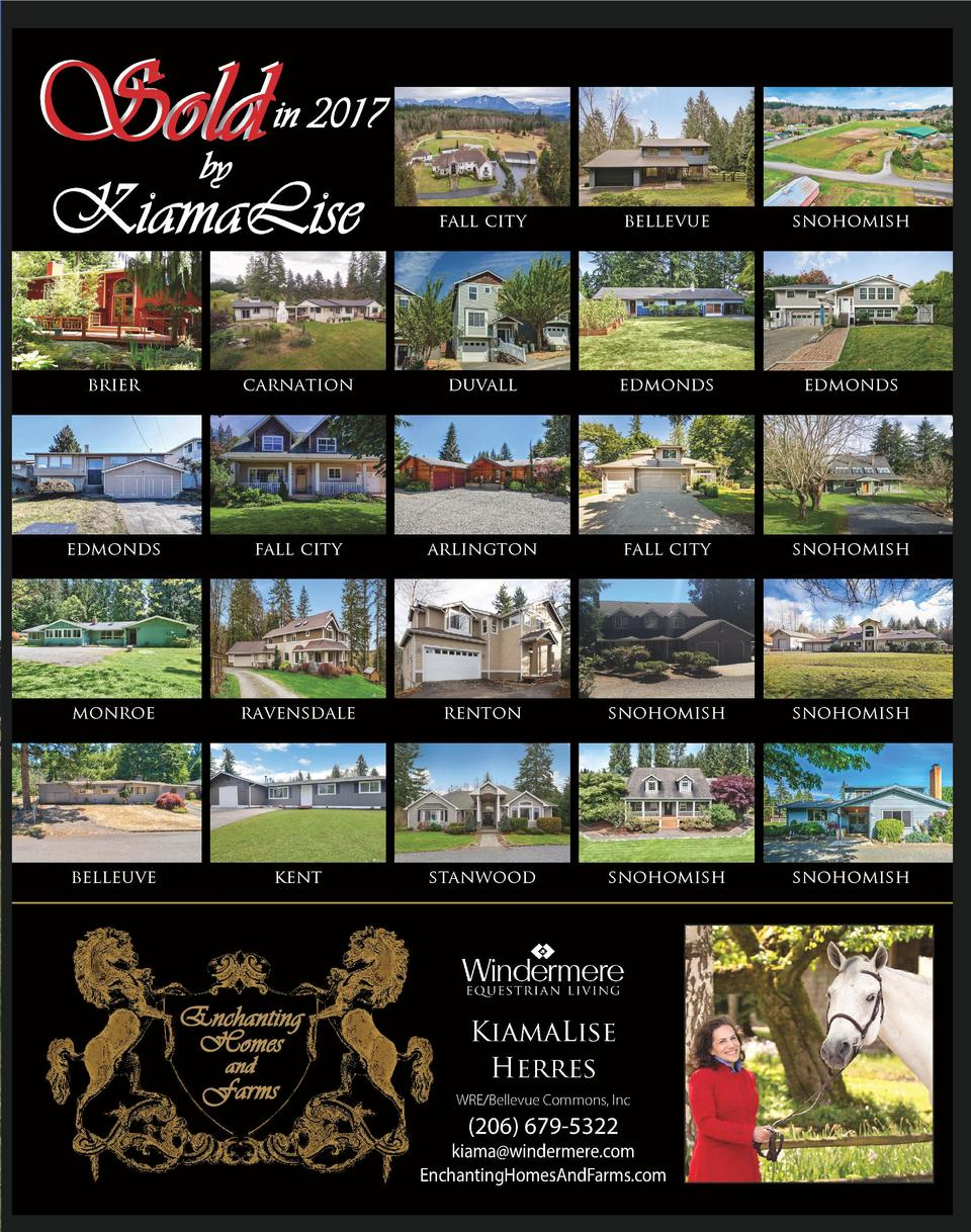 Sold  in 2017  by  KiamaLise  fall city  bellevue  snohomish  brier  carnation  duvall  edmonds  edmonds  edmonds  fall ci...