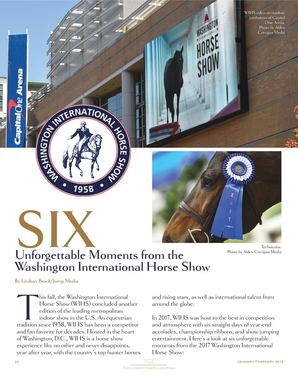 Six Unforgettable Moments from the Washington International Horse Show  SIX  Unforgettable Moments from the Washington Int...
