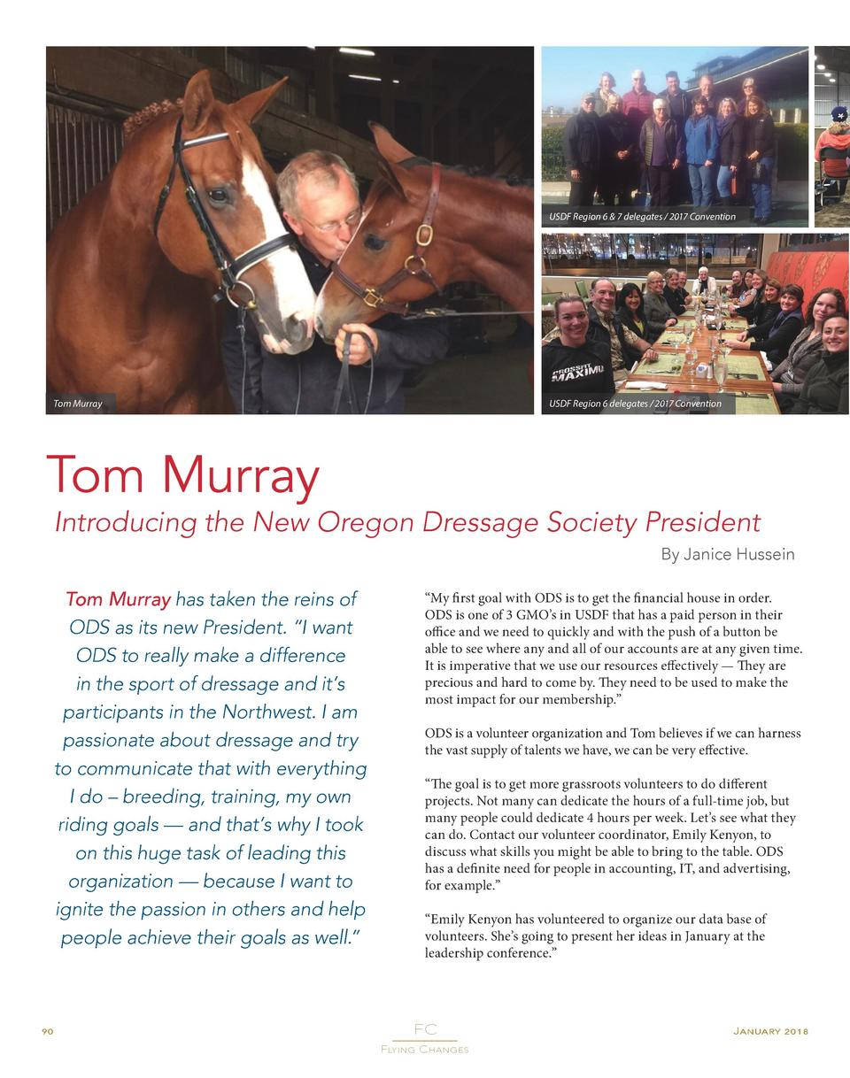 USDF Region 6   7 delegates   2017 Convention  Tom Murray  USDF Region 6 delegates   2017 Convention  Tom Murray  Introduc...