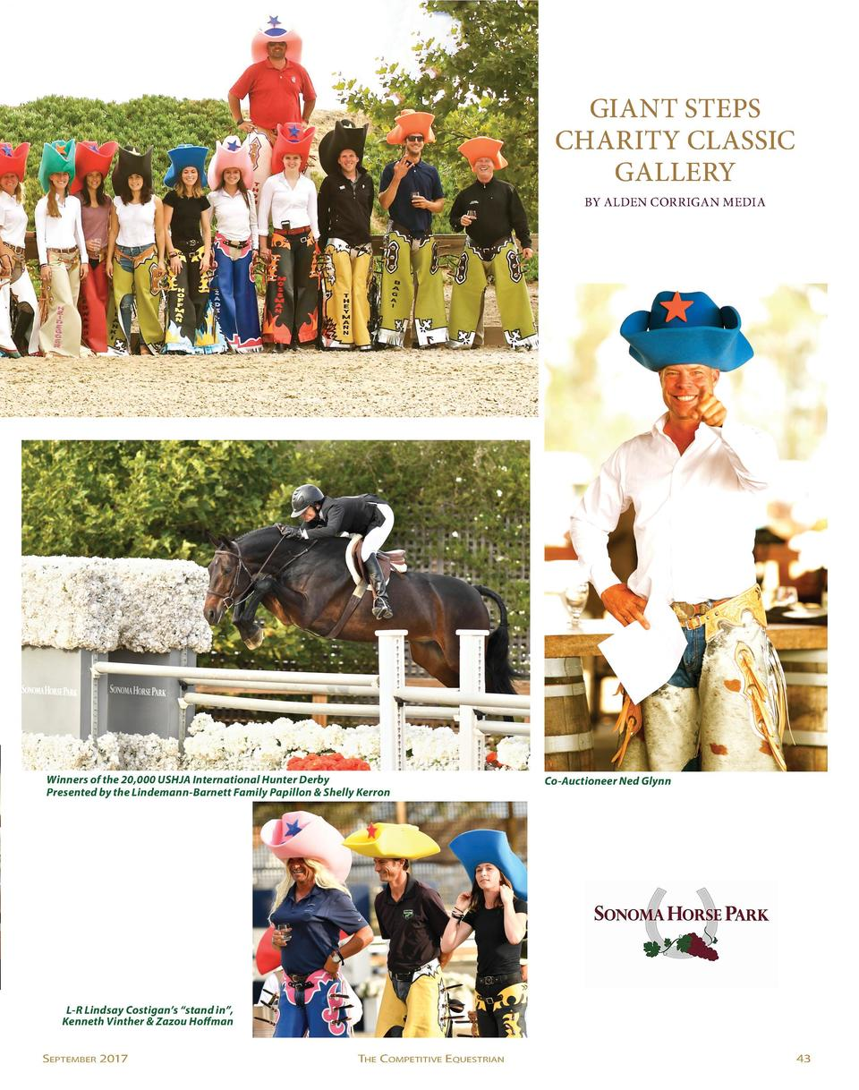 GIANT STEPS CHARITY CLASSIC GALLERY BY ALDEN CORRIGAN MEDIA  Winners of the 20,000 USHJA International Hunter Derby Presen...