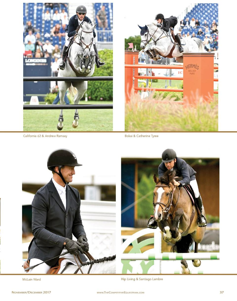 California 62   Andrew Ramsay  McLain Ward  November  December 2017  Bokai   Catherine Tyree  Hip Living   Santiago Lambre...