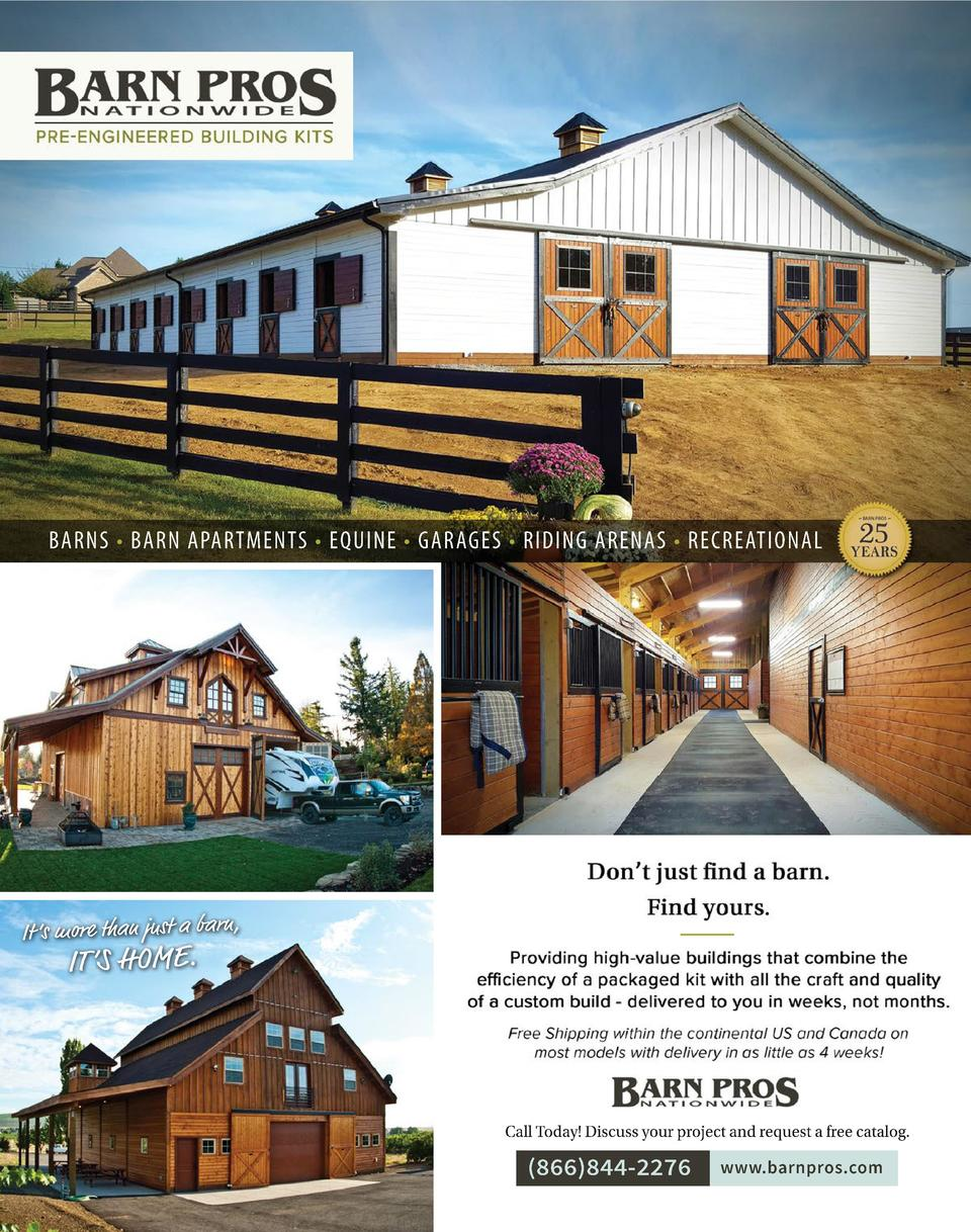 BARNS     BARN APARTMENTS     EQUINE     GARAGES     RIDING ARENAS     RECREATIONAL BARNS     BARN APARTMENTS     EQUINE  ...