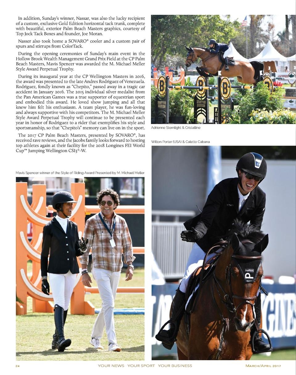 In addition, Sunday   s winner, Nassar, was also the lucky recipient of a custom, exclusive Gold Edition horizontal tack t...