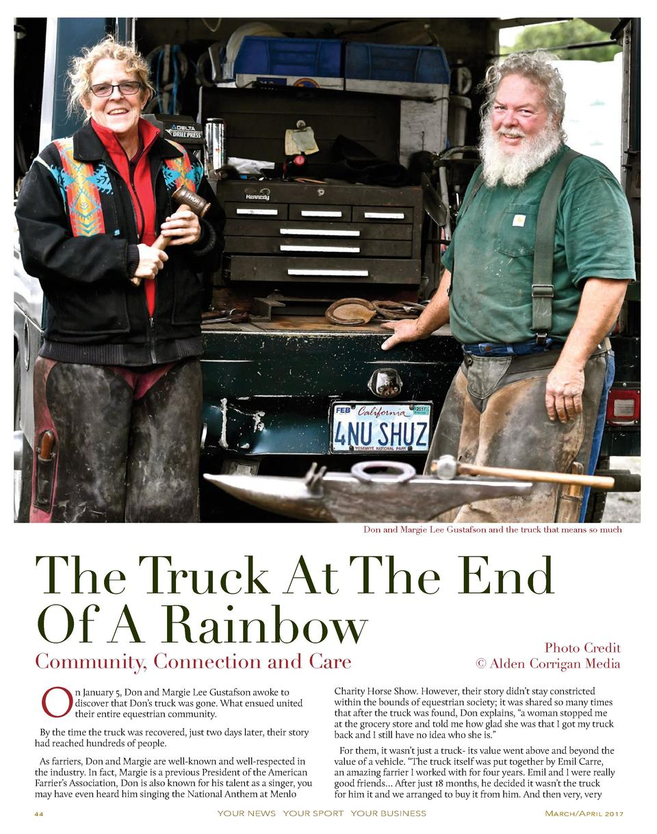 Don and Margie Lee Gustafson and the truck that means so much  The Truck At The End Of A Rainbow Community, Connection and...