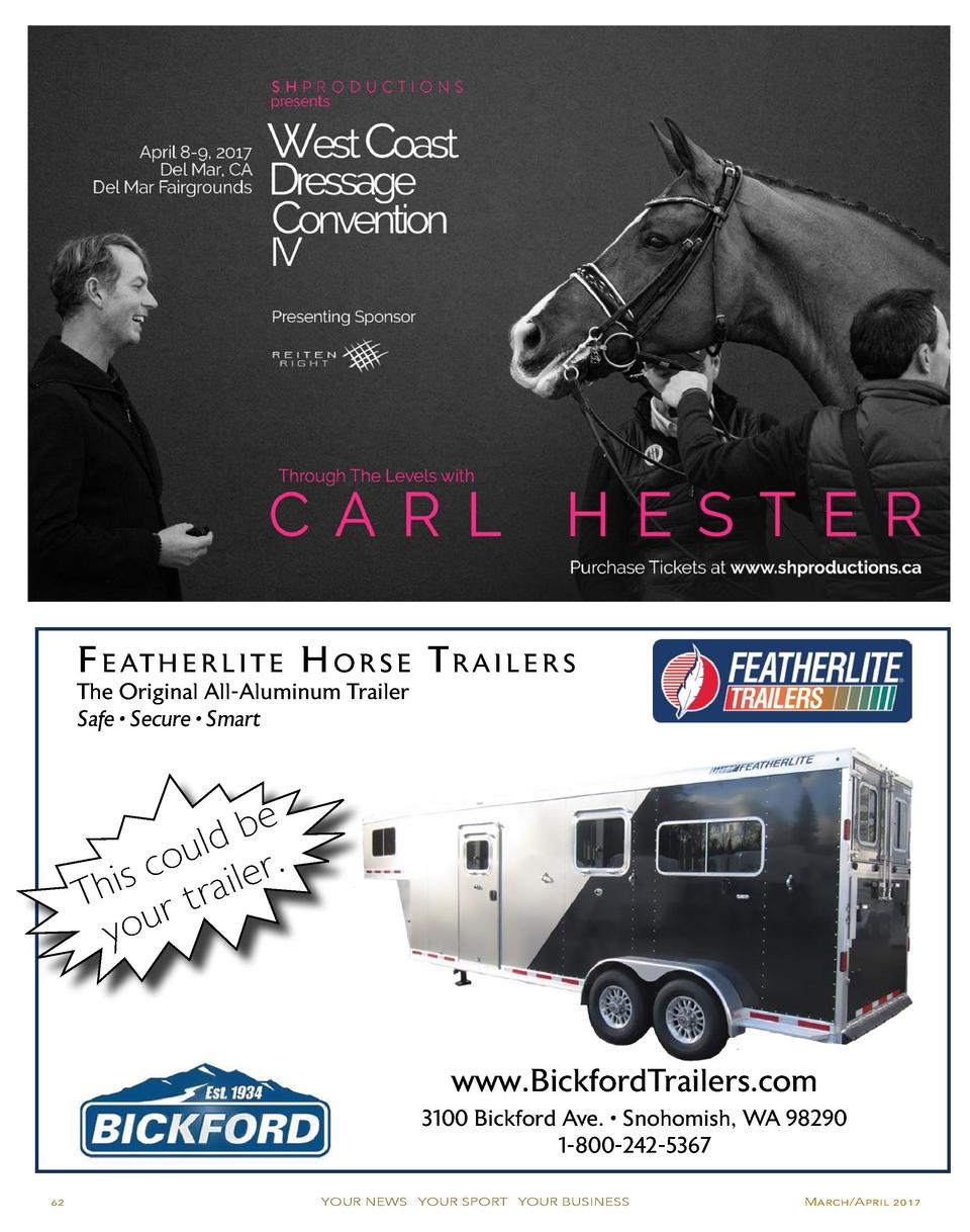 F e at h e r l i t e H o r s e T r a i l e r s The Original All-Aluminum Trailer Safe     Secure     Smart  e b ld . u o s...