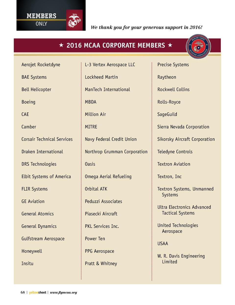 Northrop Grumman Federal Credit Union >> Yellow Sheet Fall 2016 : simplebooklet.com
