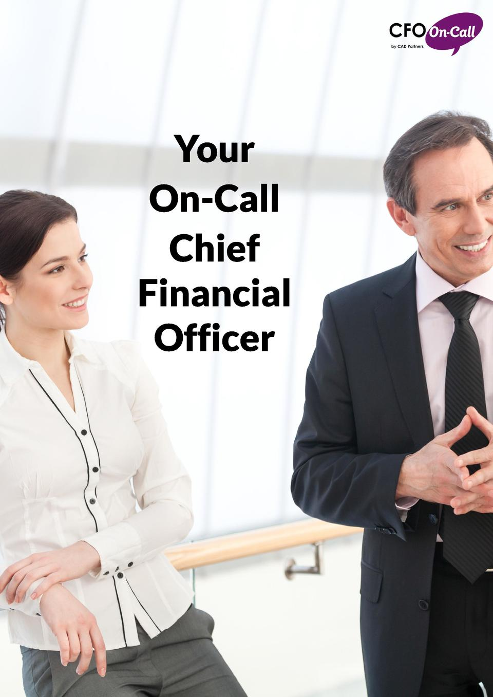 Your On-Call Chief Financial Officer