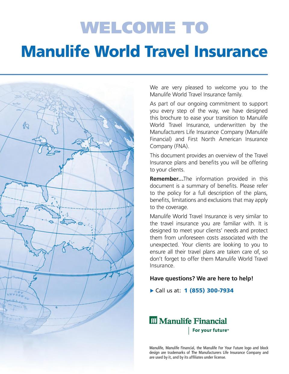 Manulife Life Insurance Quote Manulife Travel Insurance Quote  44Billionlater