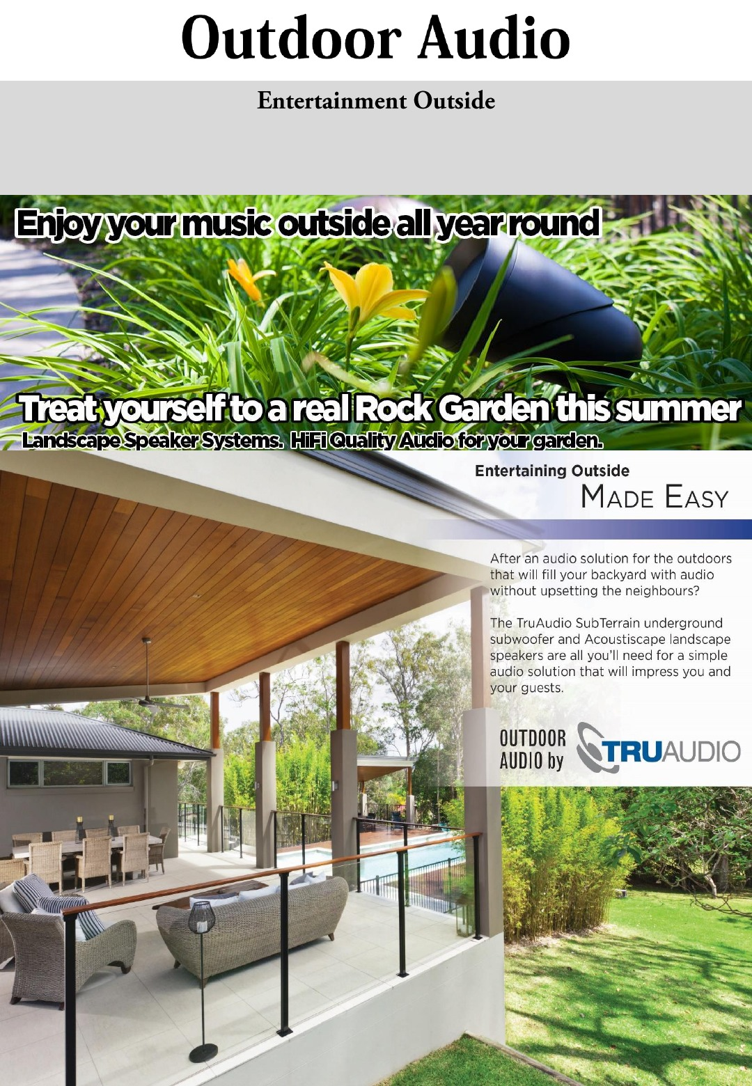 Savi Definitive Guide 1st Editio Streamer With 3x Airplay Ce Pro On Installing Outdoor Wiring Speakers Entertaining Outside Should Be Extremely Pleasurable Great Background Music To Enjoy The