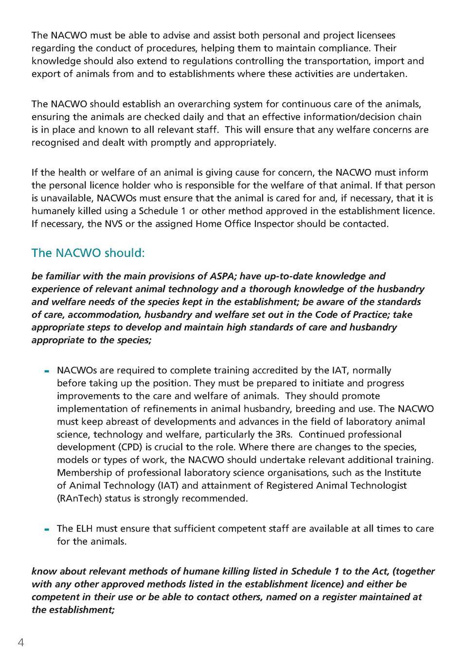 nacwo guidelines com nacwo guidelines com