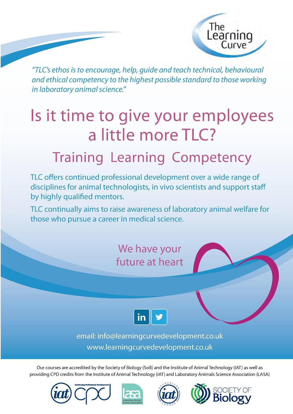 TLC   s ethos is to encourage, help, guide and teach technical, behavioural and ethical competency to the highest possi...