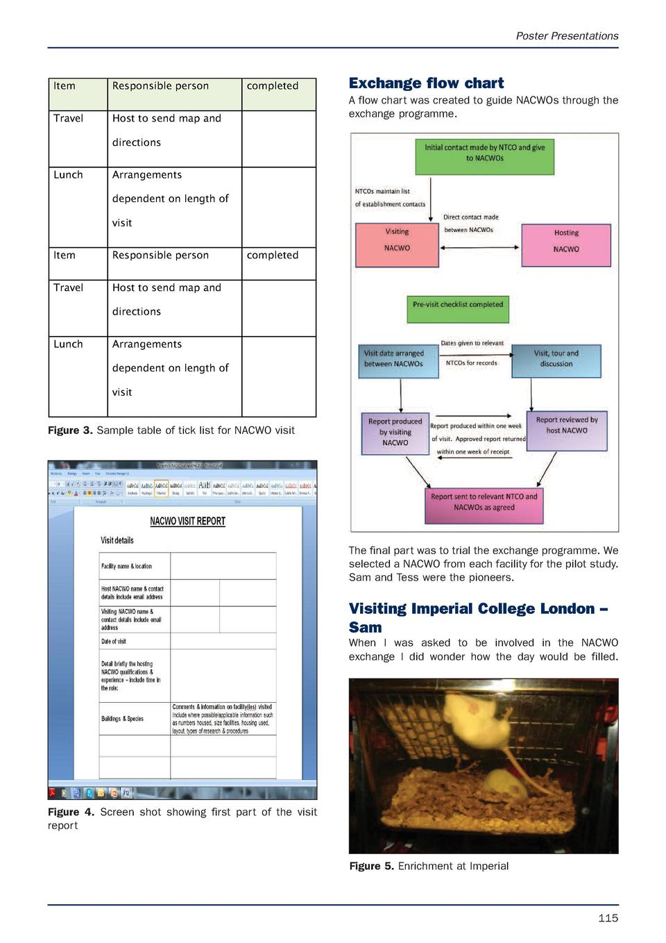 Poster Presentations  Item Travel  Responsible person  completed  Exchange flow chart A flow chart was created to guide NA...