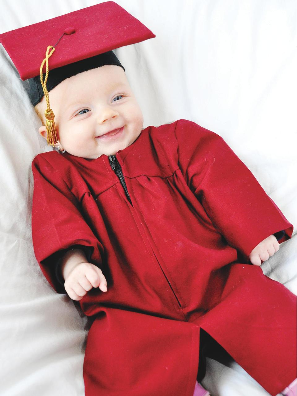 Baby Graduation Caps   Gowns This baby graduation cap and gown is one-of a-kind and can be used for any graduation. Includ...
