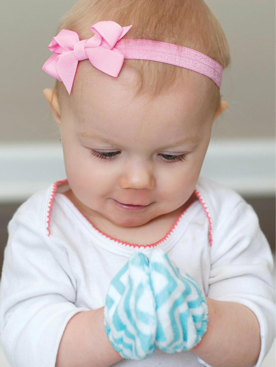 Minky Mittens Super soft mittens to protect your little one   s face from scratches or keep your babe   s hands warm in th...