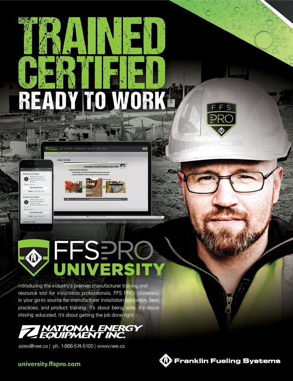 Introducing the industry   s premier NBOVGBDUVSFS training and resource tool for installation professionals. FFS PRO  Univ...