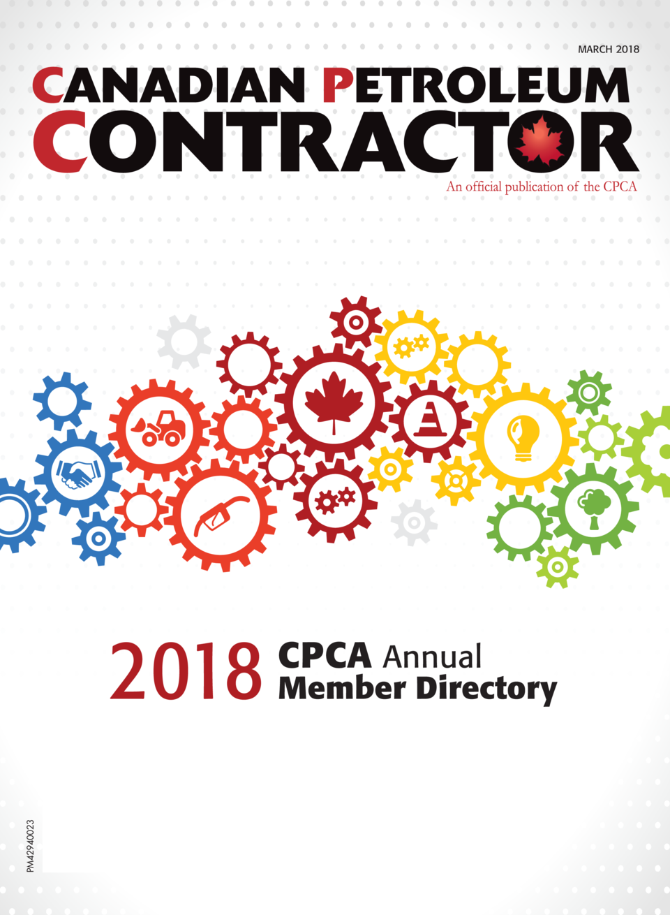 MARCH 2018  PM42940023  2018  CPCA Annual  Member Directory