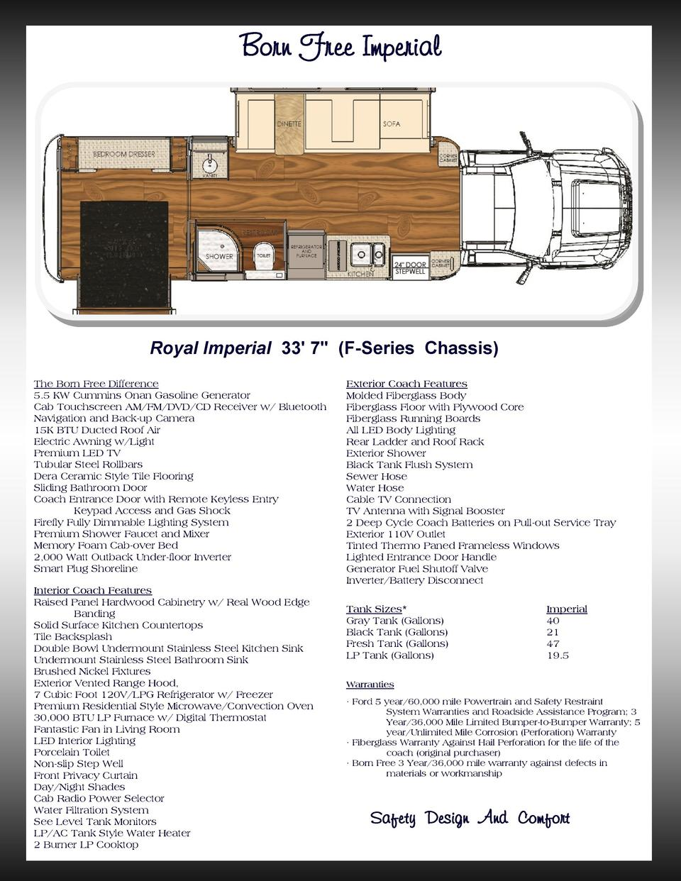 2016 Born Free Rvs 40 Rv Inverter Wiring Diagram Picture Imperial Royal 33 7 F Series Chassis The Difference 55