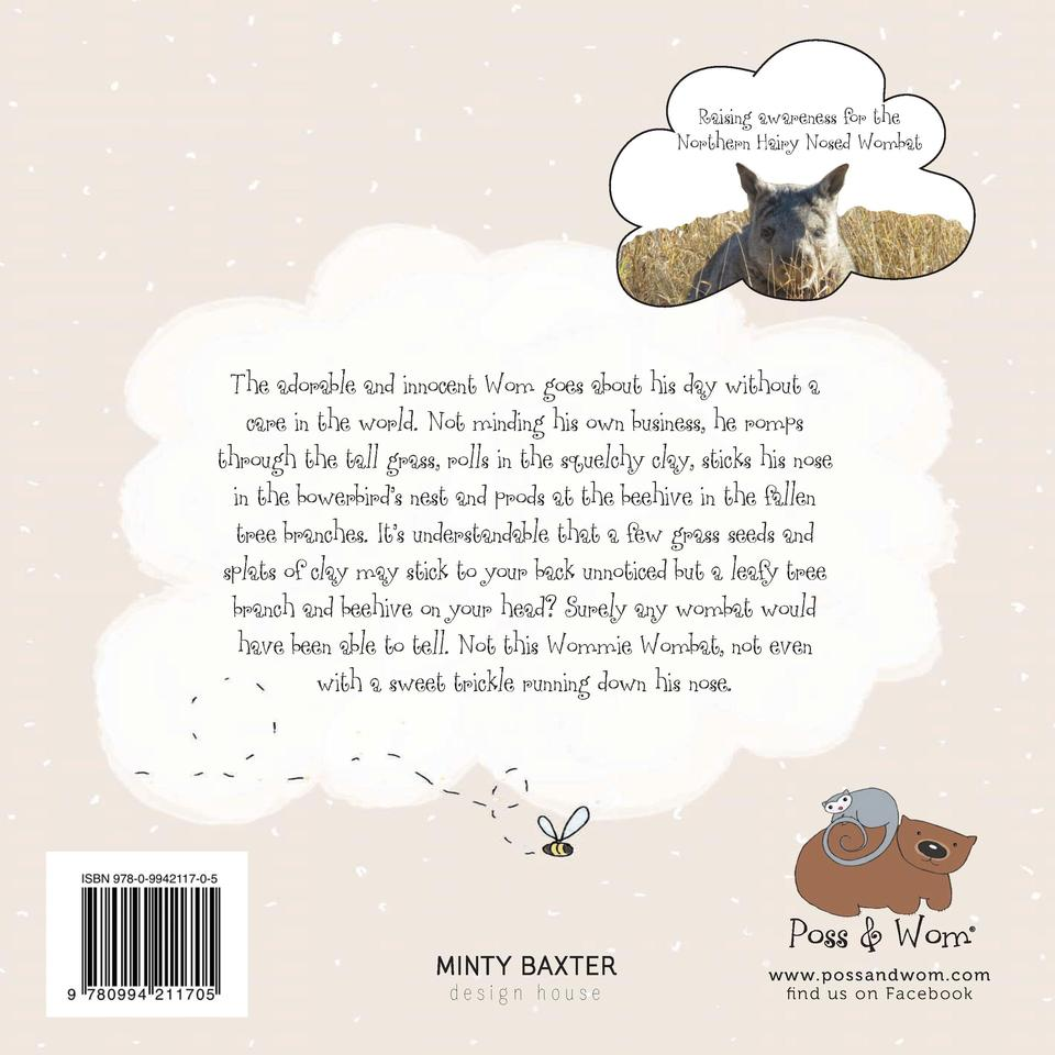 Raising awareness for the Northern Hairy Nosed Wombat  The adorable and innocent Wom goes about his day without a care in ...