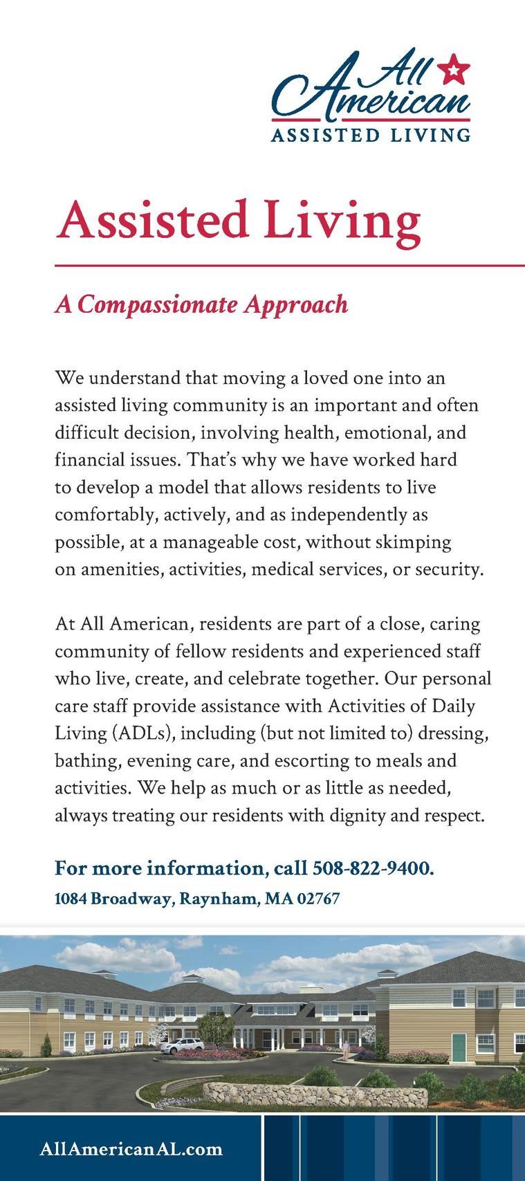 Our Community     All American is a community in the truest sense of the word. Our building is really a neighborhood with ...