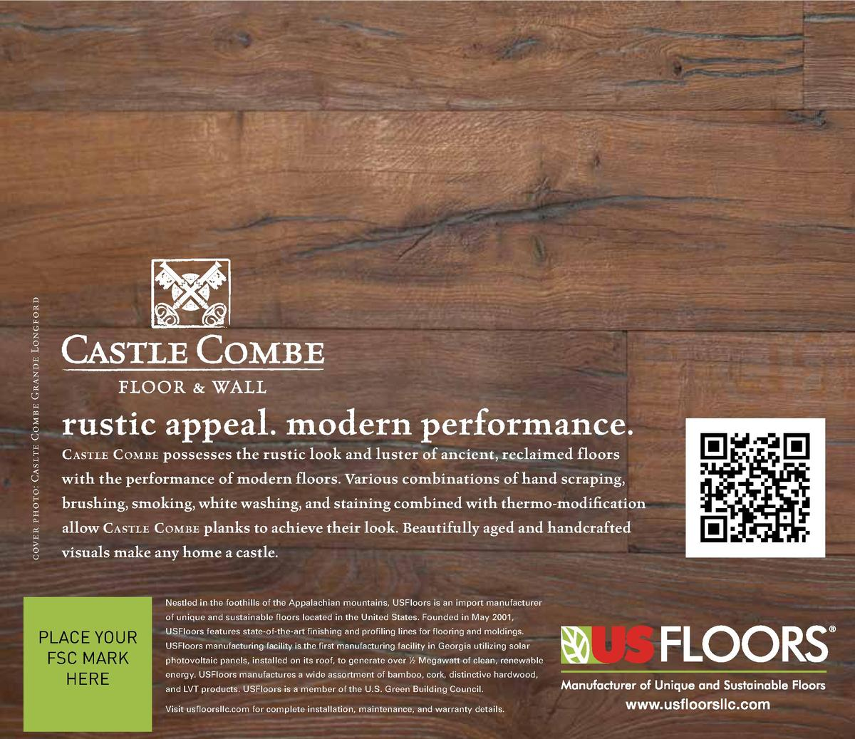 cover photo  Caslte Combe Grande Longford  rustic appeal. modern performance. C astle C ombe possesses the rustic look and...