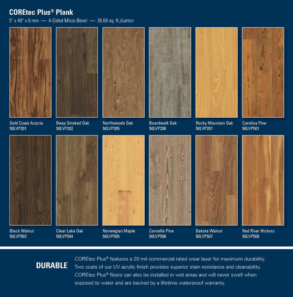 Us Floors Coretec Plus Dealers Flooring