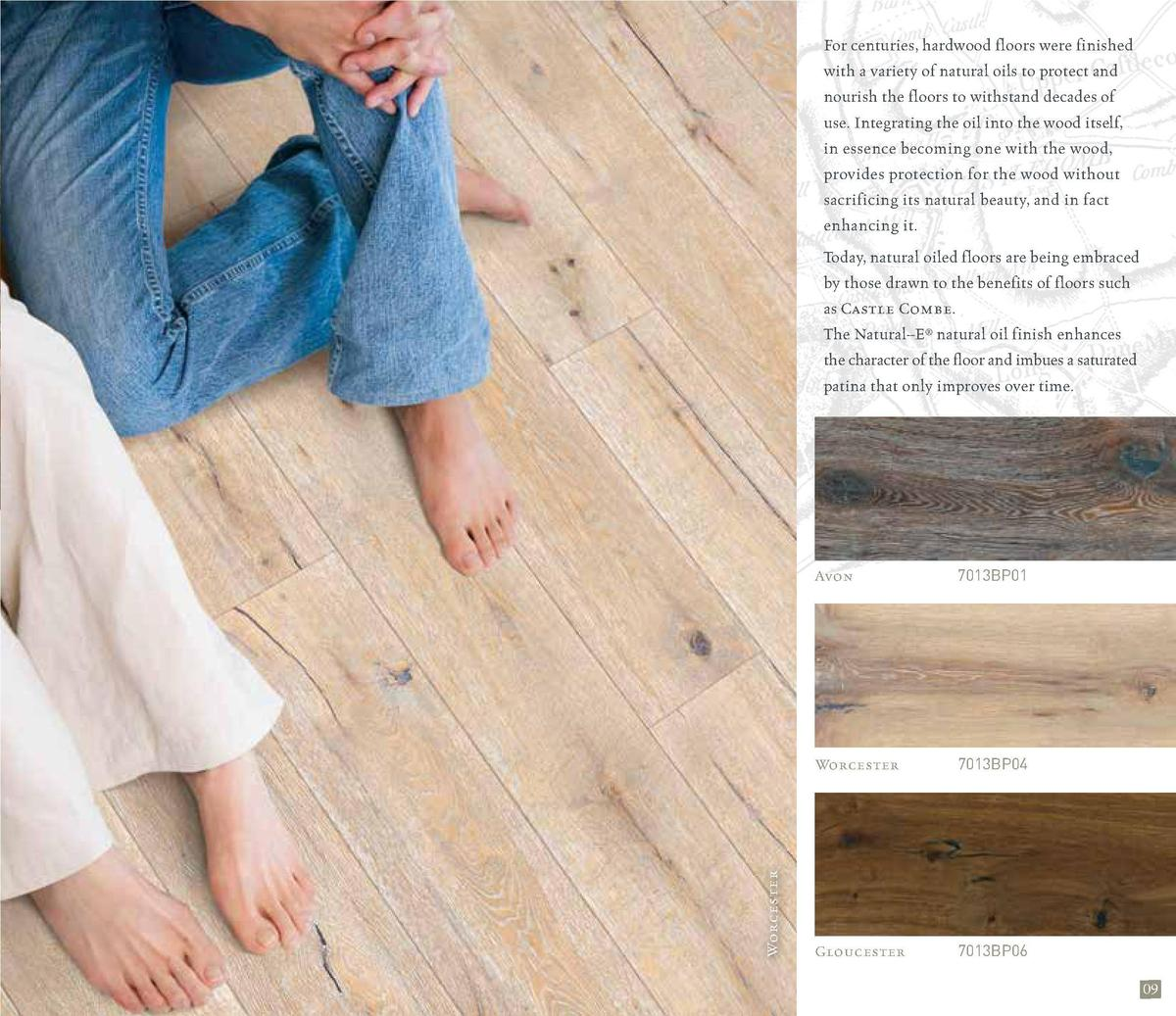 For centuries, hardwood floors were finished with a variety of natural oils to protect and nourish the floors to withstand...