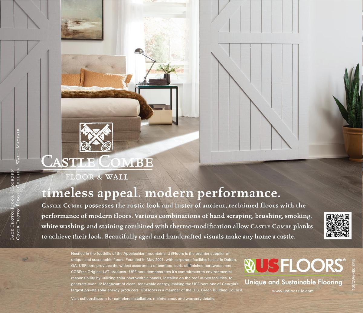 C astle C ombe possesses the rustic look and luster of ancient, reclaimed floors with the performance of modern floors. Va...