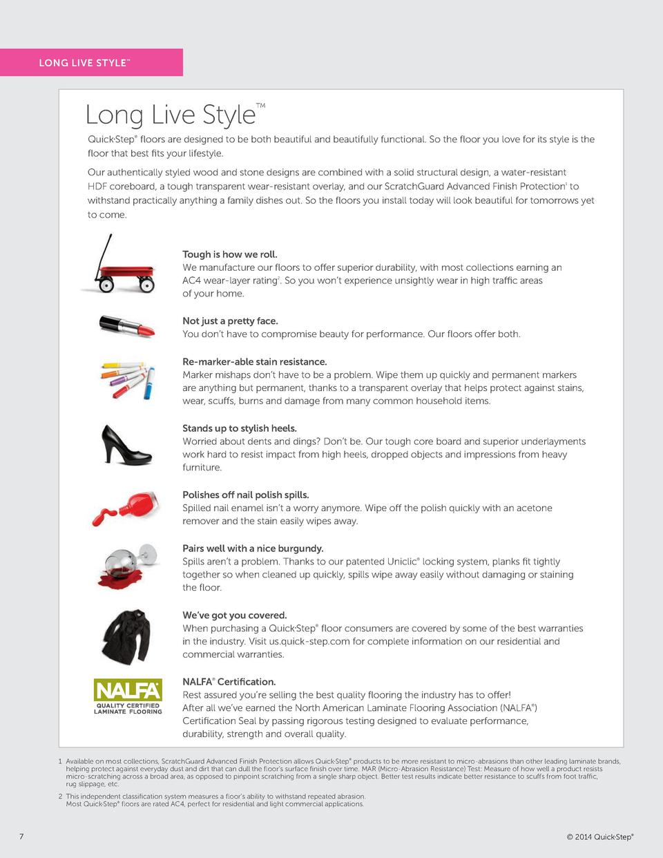 LONG LIVE STYLE       Long Live Style       Quick Step    oors are designed to be both beautiful and beautifully functiona...