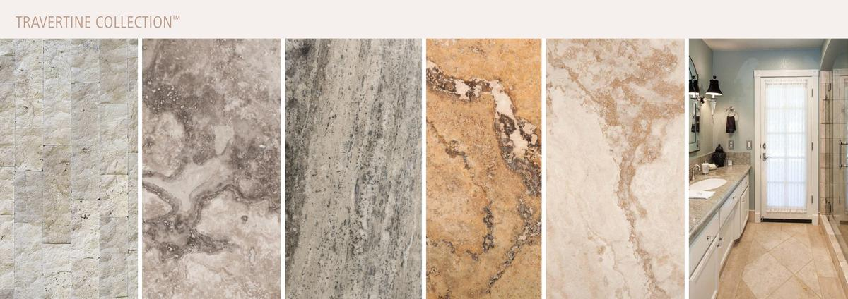 NATURAL STONE       TRAVERTINE COLLECTION  Design Made Easy    290