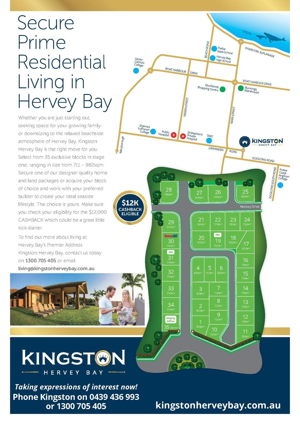 St James Lutheran College St James Lutheran College  onliving kingstonherveybay.com.au 1300 705 405 or email living kingst...