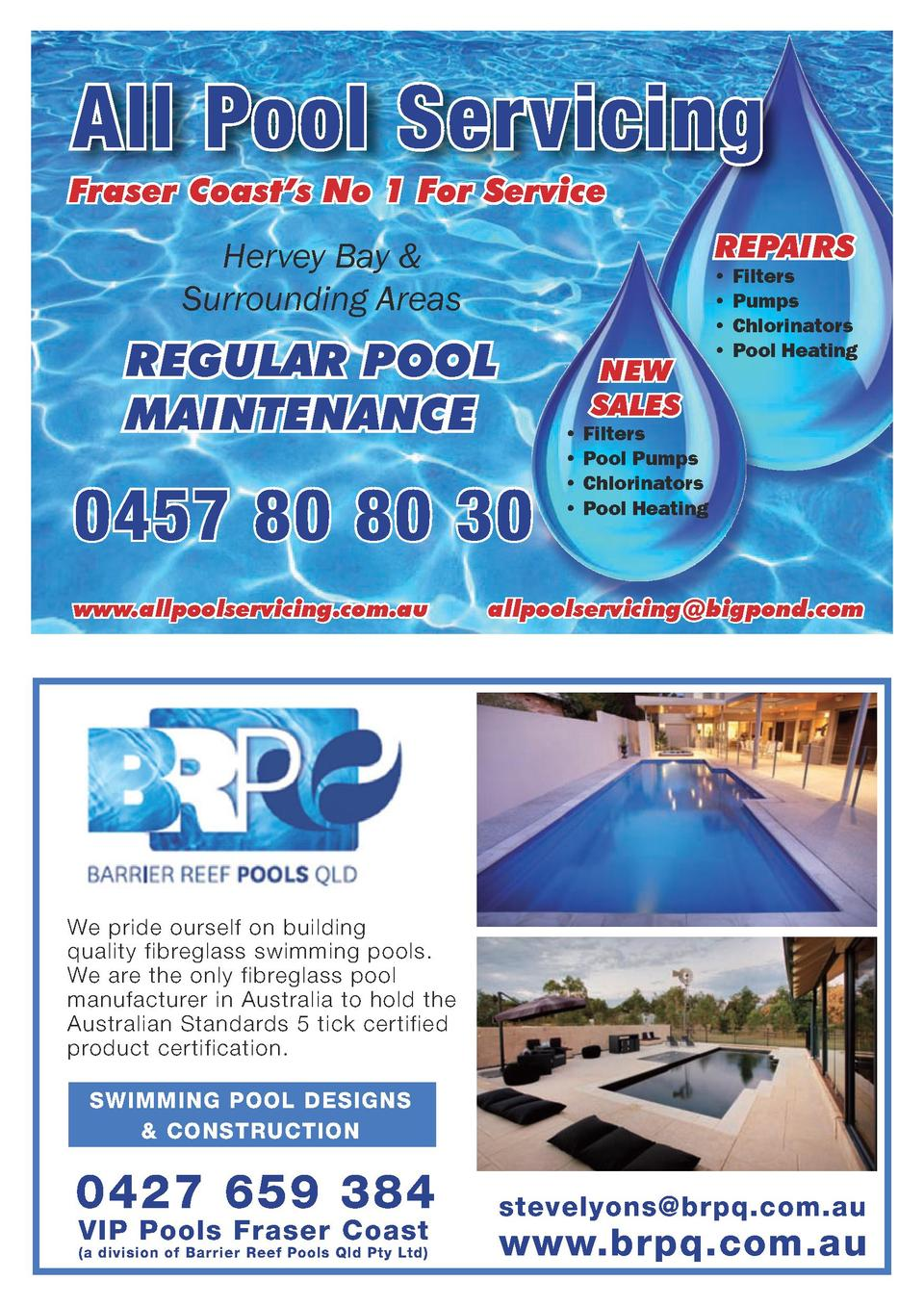 All Pool Servicing Fraser Coast   s No 1 For Service REPAIRS  Hervey Bay   Surrounding Areas  REGULAR POOL MAINTENANCE  NE...