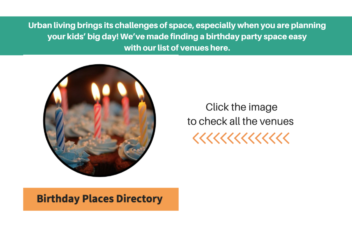 Urban living brings its challenges of space, especially when you are planning your kids    big day  We   ve made finding a...