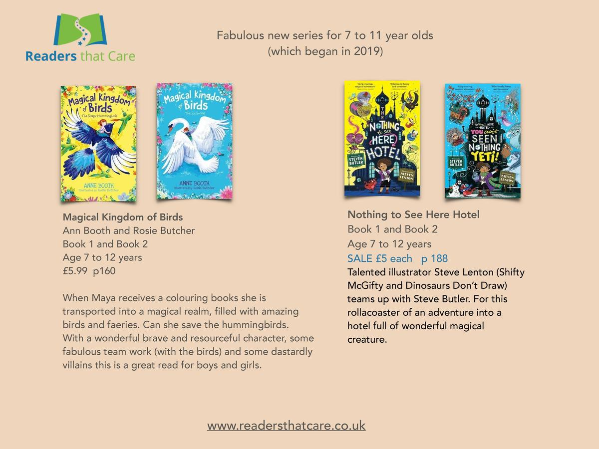 Fabulous new series for 7 to 11 year olds  which began in 2019   Nothing to See Here Hotel Book 1 and Book 2 Age 7 to 12 y...
