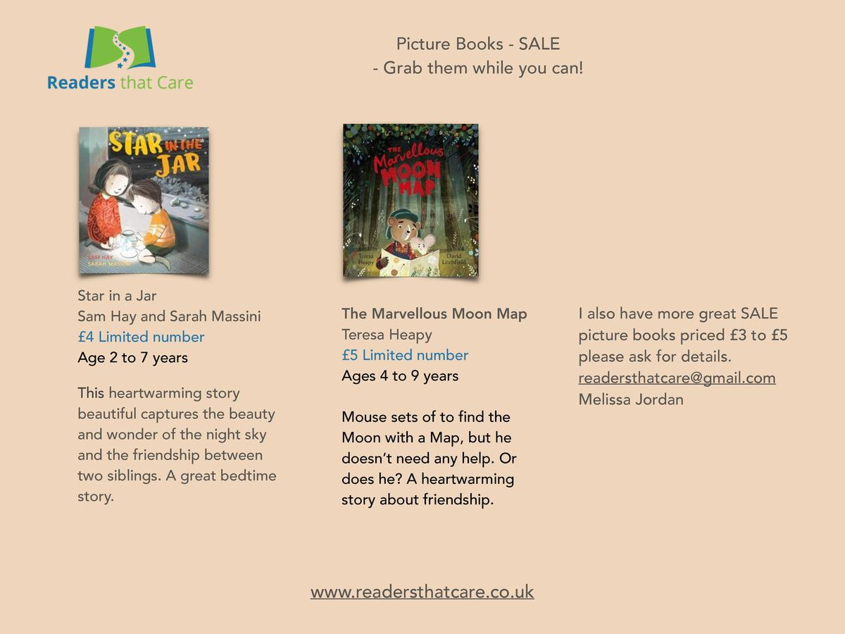 Picture Books - SALE - Grab them while you can   Star in a Jar Sam Hay and Sarah Massini   4 Limited number Age 2 to 7 yea...