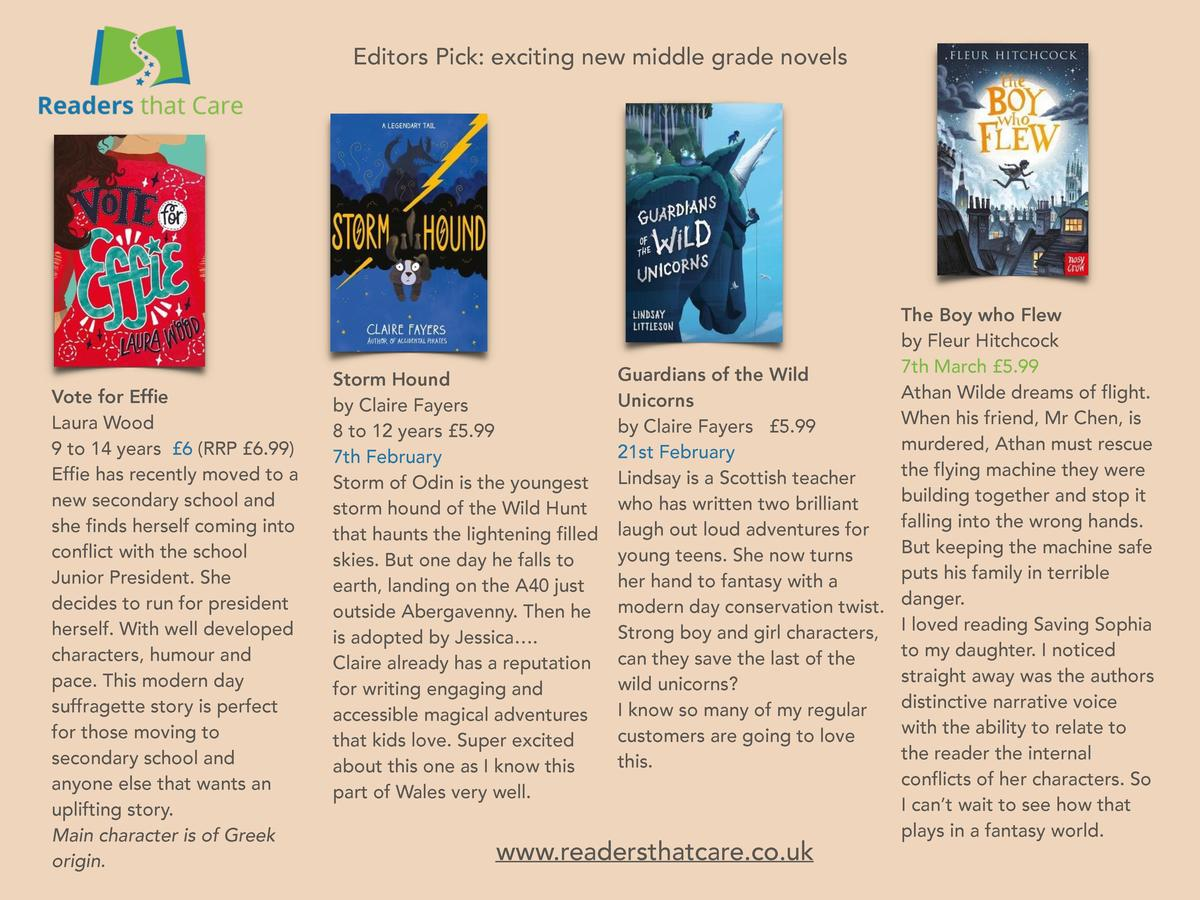 Editors Pick  exciting new middle grade novels  Vote for Effie Laura Wood 9 to 14 years   6  RRP   6.99  Effie has recentl...