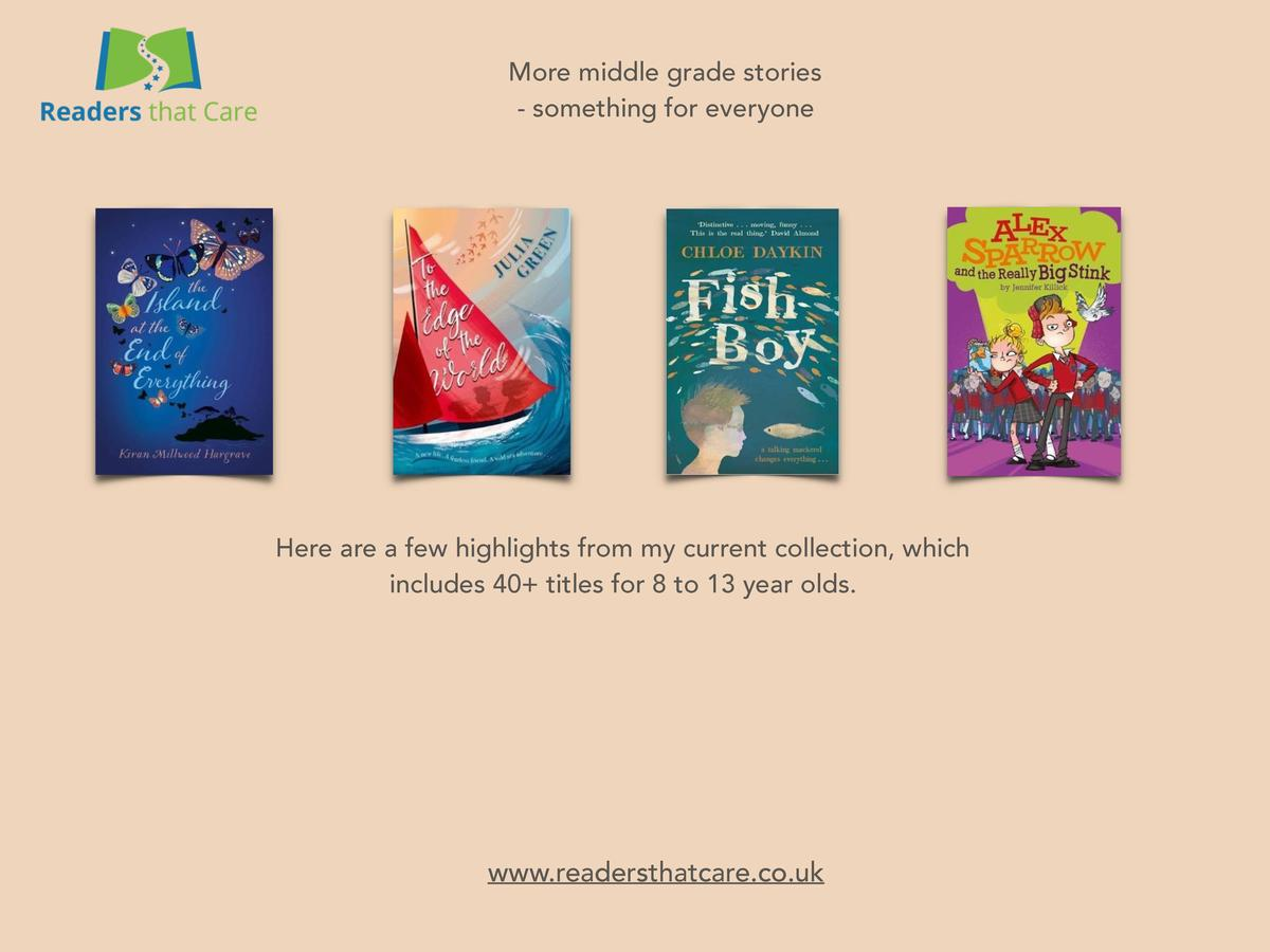 More middle grade stories - something for everyone  Here are a few highlights from my current collection, which includes 4...
