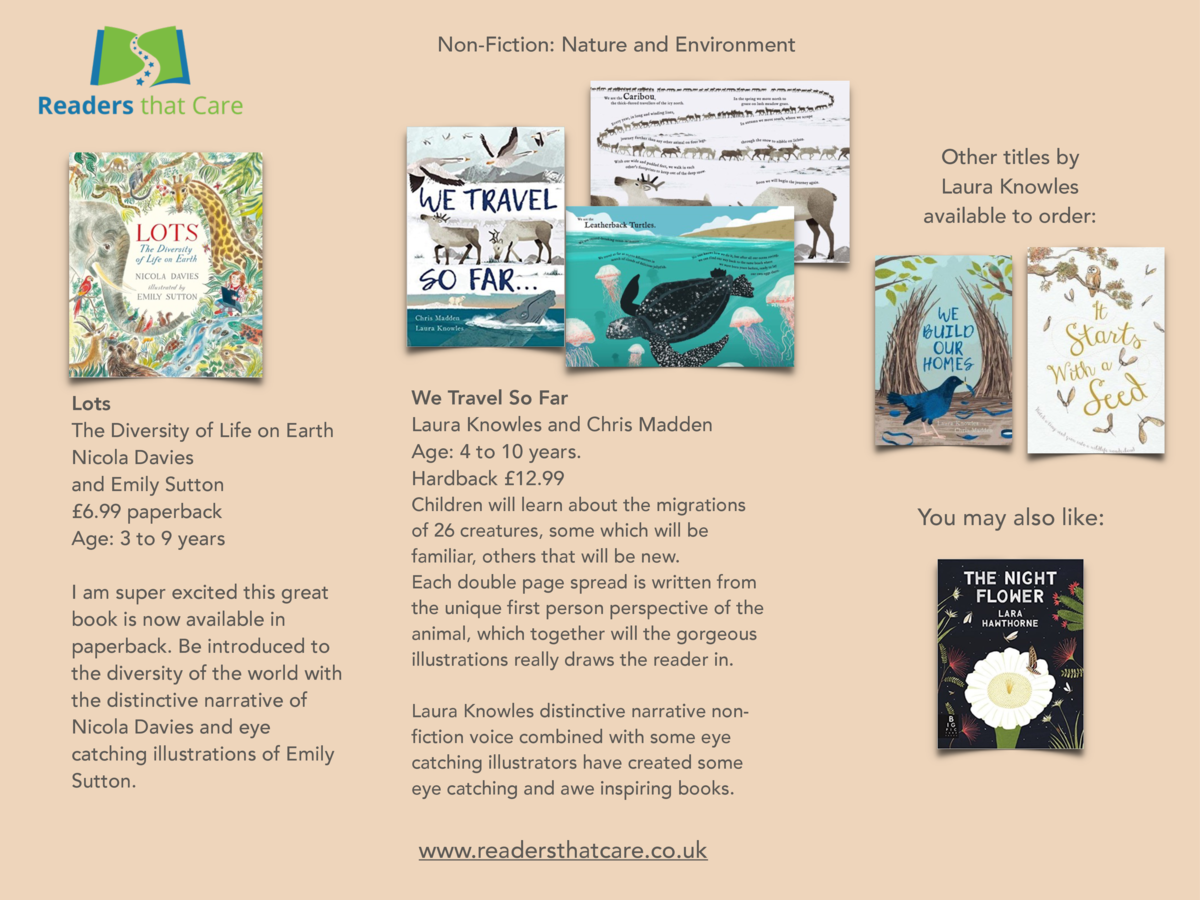 Non-Fiction  Nature and Environment  Other titles by Laura Knowles available to order   Lots The Diversity of Life on Eart...