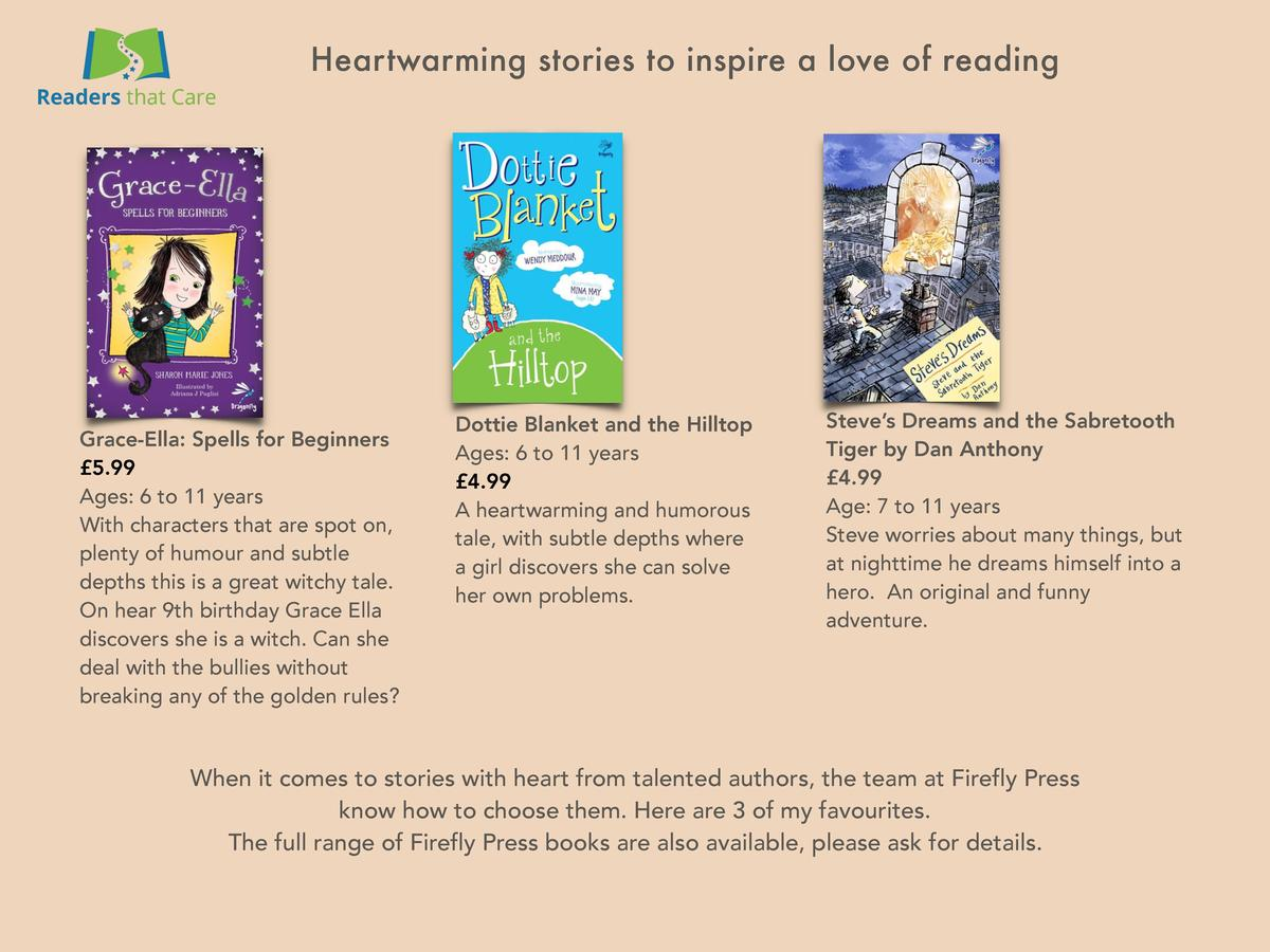 Heartwarming stories to inspire a love of reading  Grace-Ella  Spells for Beginners   5.99 Ages  6 to 11 years With charac...