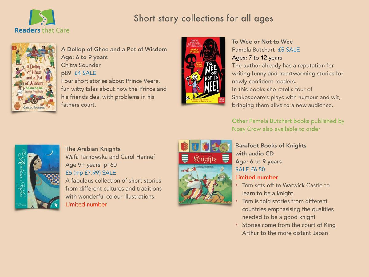 Short story collections for all ages  A Dollop of Ghee and a Pot of Wisdom Age  6 to 9 years Chitra Sounder p89   4 SALE F...